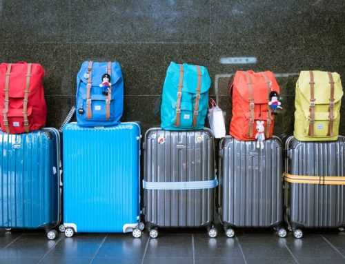 Urlaubsvorbereitung – Reisekofferset